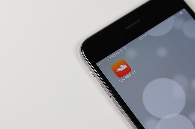 Aplikace Soundcloud