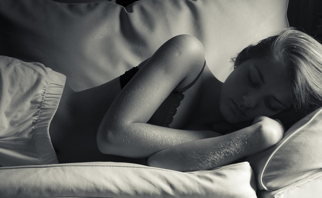 spánek na boku