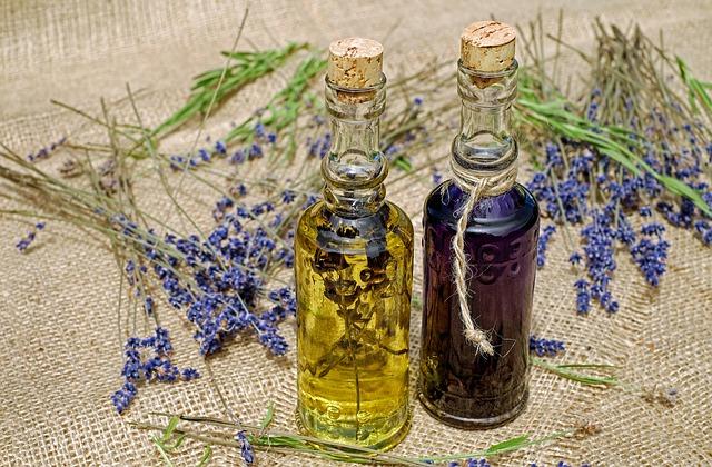 vonné oleje pro terapii