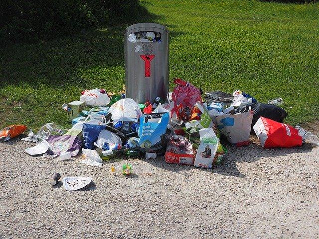 nevytříděný odpad