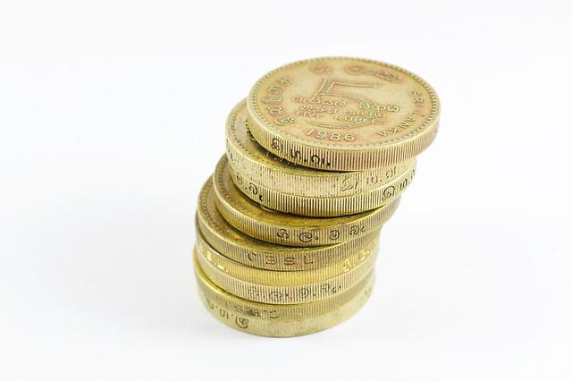 zlaté mince, komínek